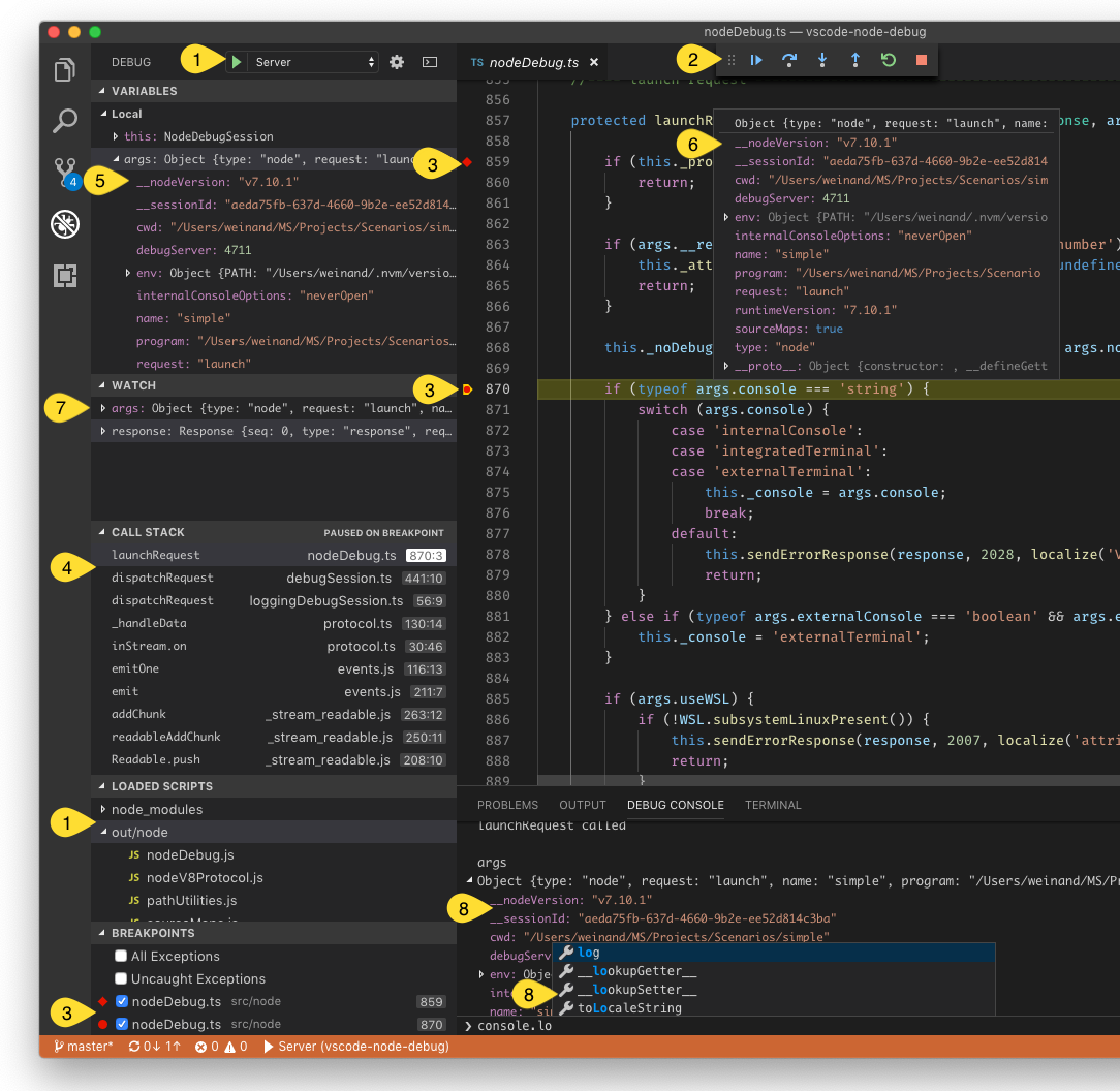 Debugger Extension | Visual Studio Code Extension API