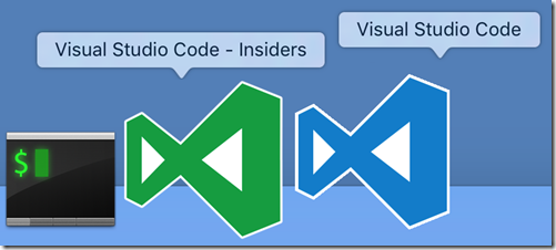 Insiders and Stable, side by side, don't worry, the green icon is temporary