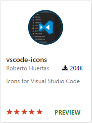 vscode-icons extension