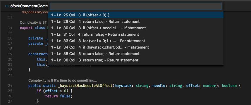 Visual Studio Code Extensions using CodeLens
