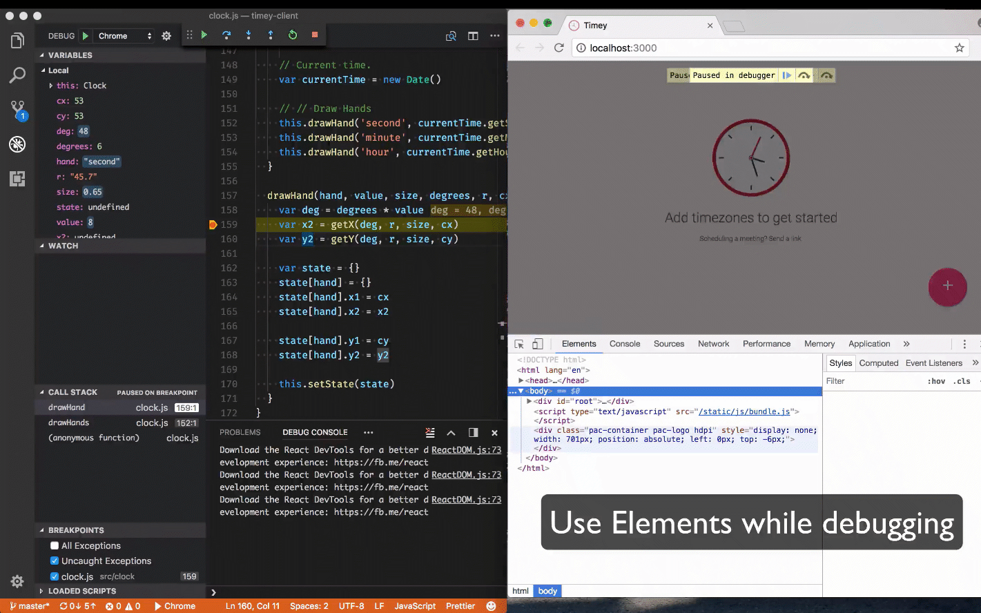 What's New for Chrome debugging in VS Code