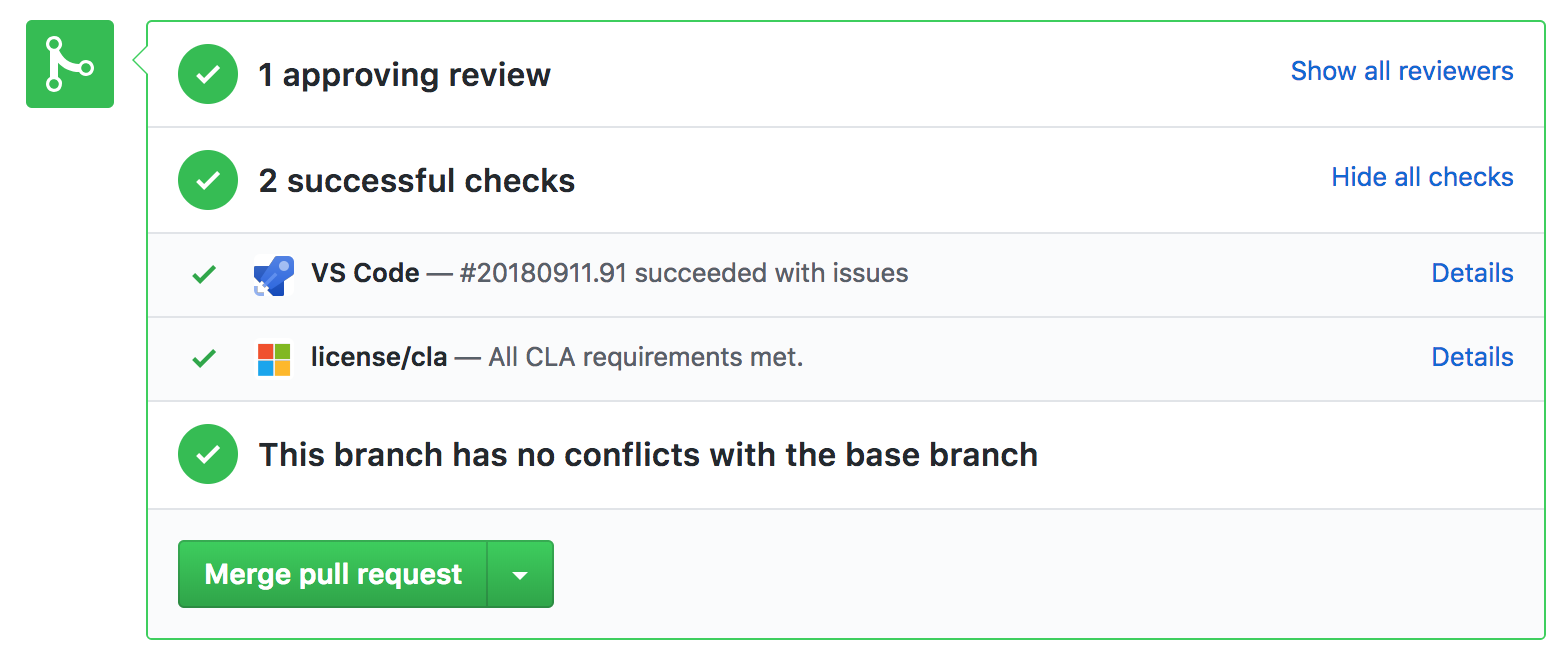 Pull Request Integration