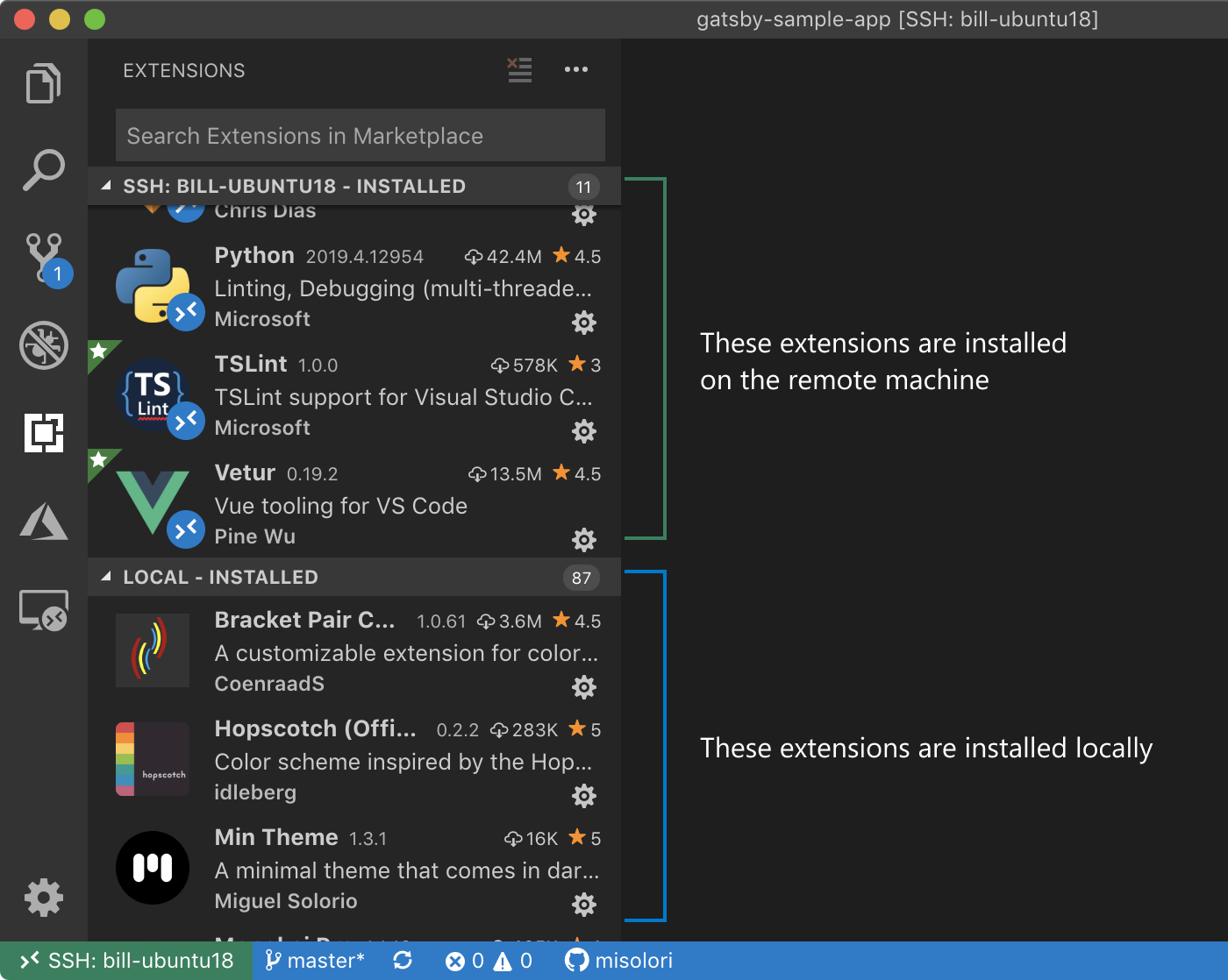 Remote Development with Visual Studio Code