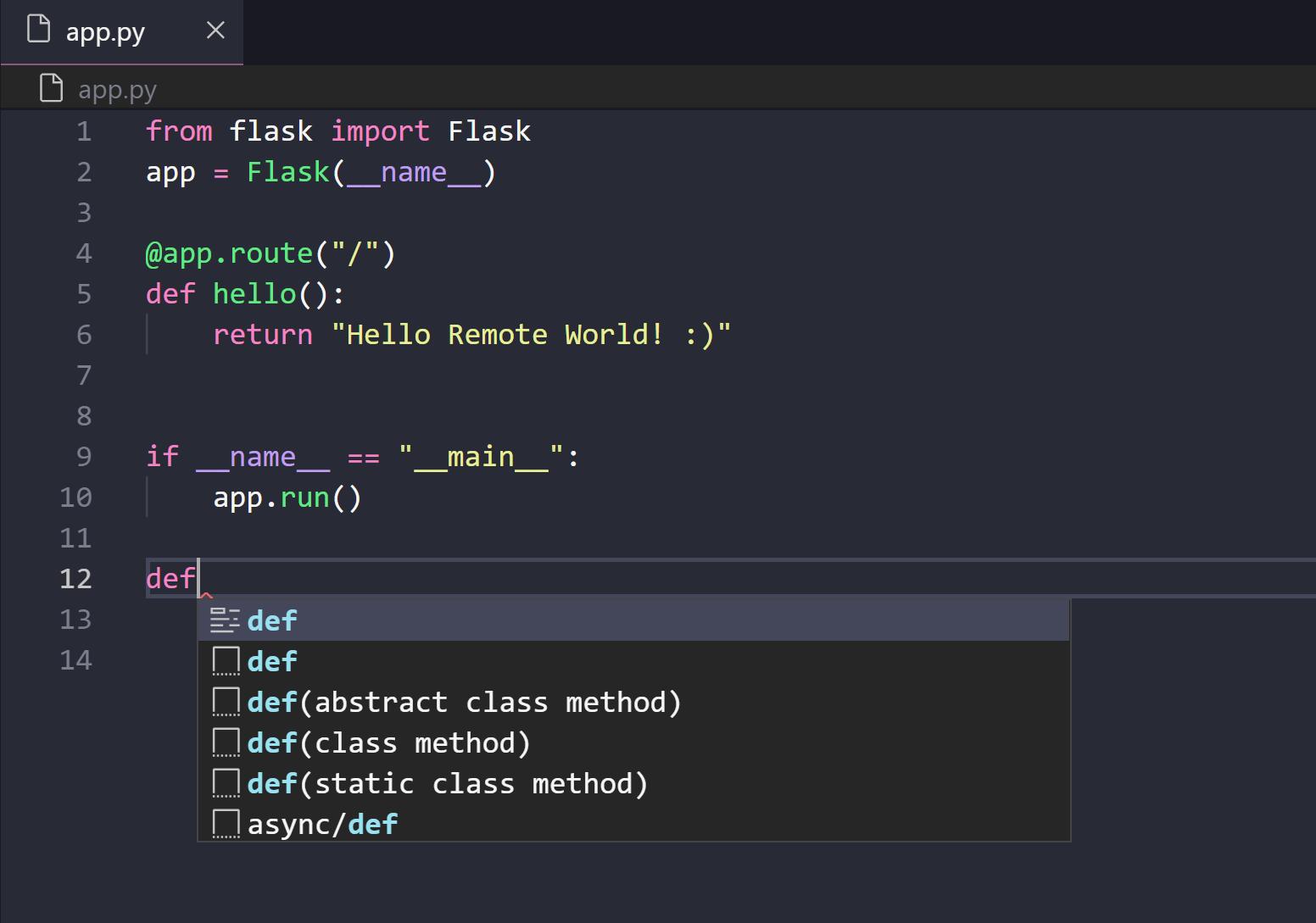 Remote SSH access with Visual Studio Code