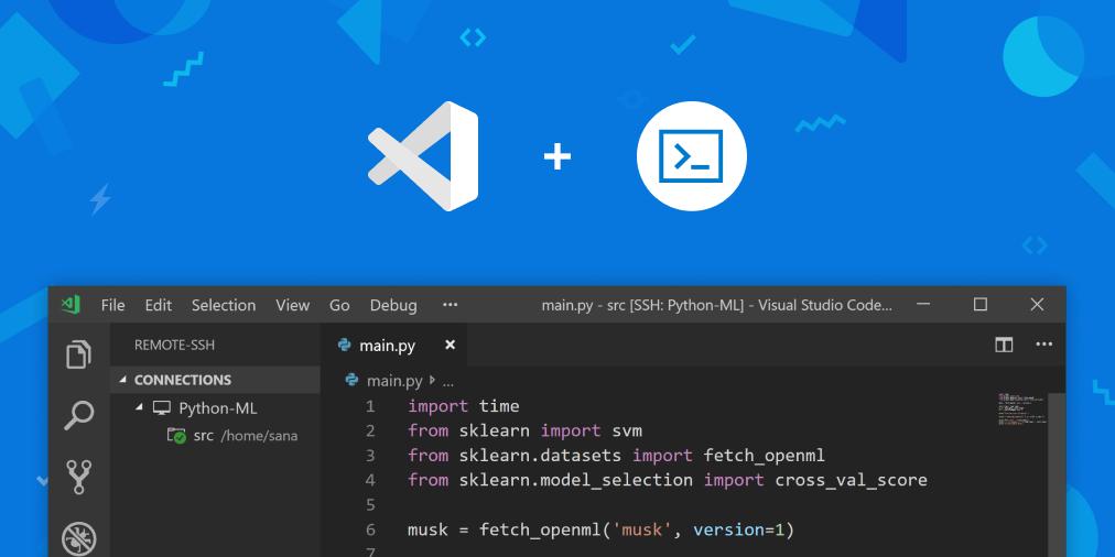 Remote SSH access with Visual Studio Code