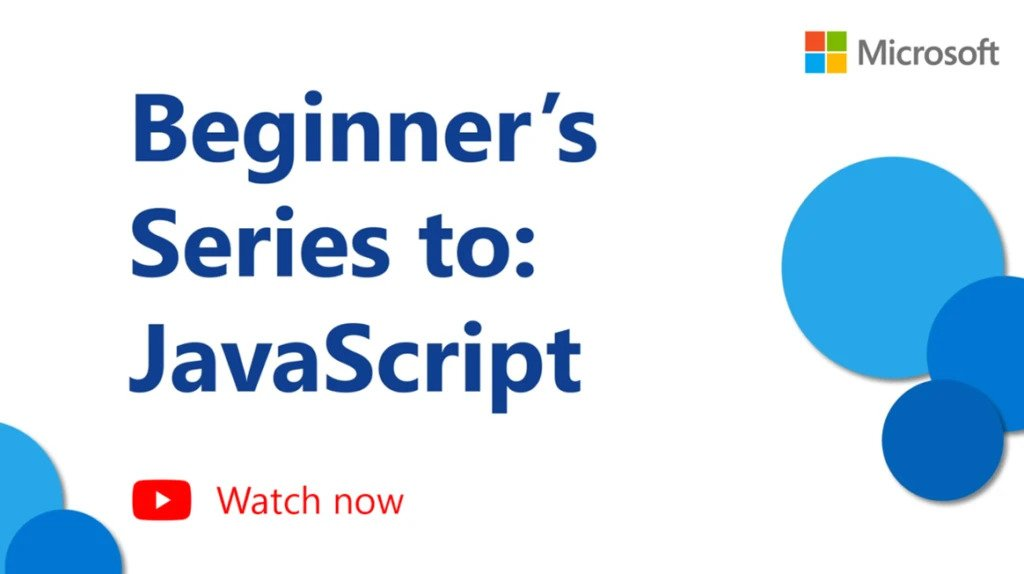 Watch: Beginner's series to JavaScript