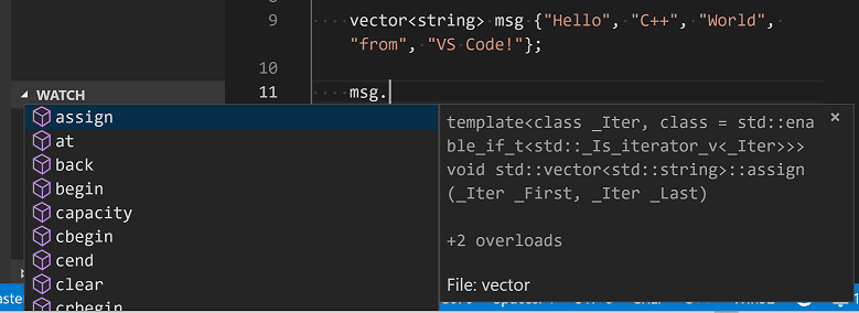 Configure Visual Studio Code for Microsoft C++