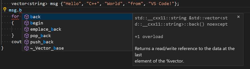 Edit and navigate C++ code in Visual Studio Code