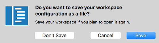 save workspace dialog