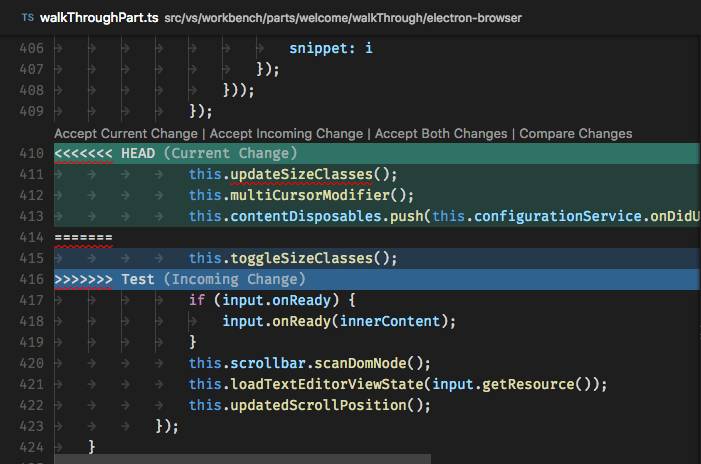 Version Control in Visual Studio Code