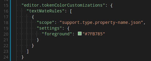 Advanced Token Color Customization