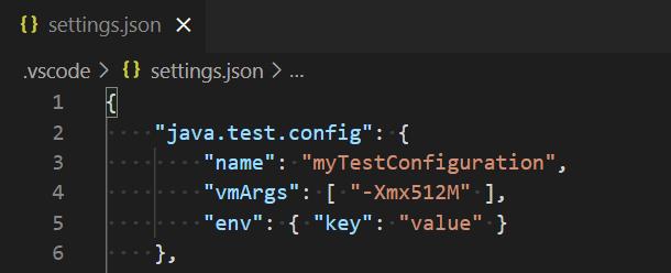 Java Unit Tests in Visual Studio Code