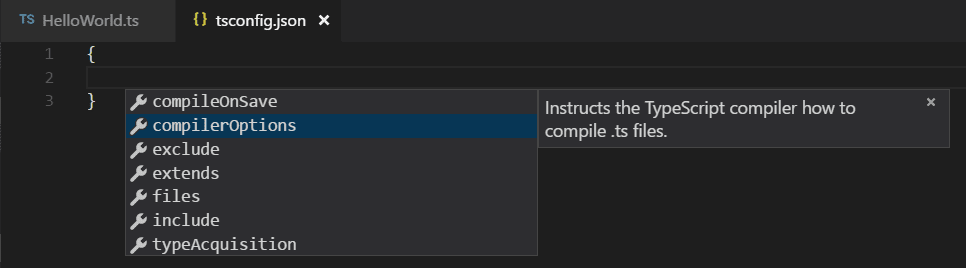 jsconfig.json IntelliSense