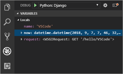 Python and Django tutorial in Visual Studio Code