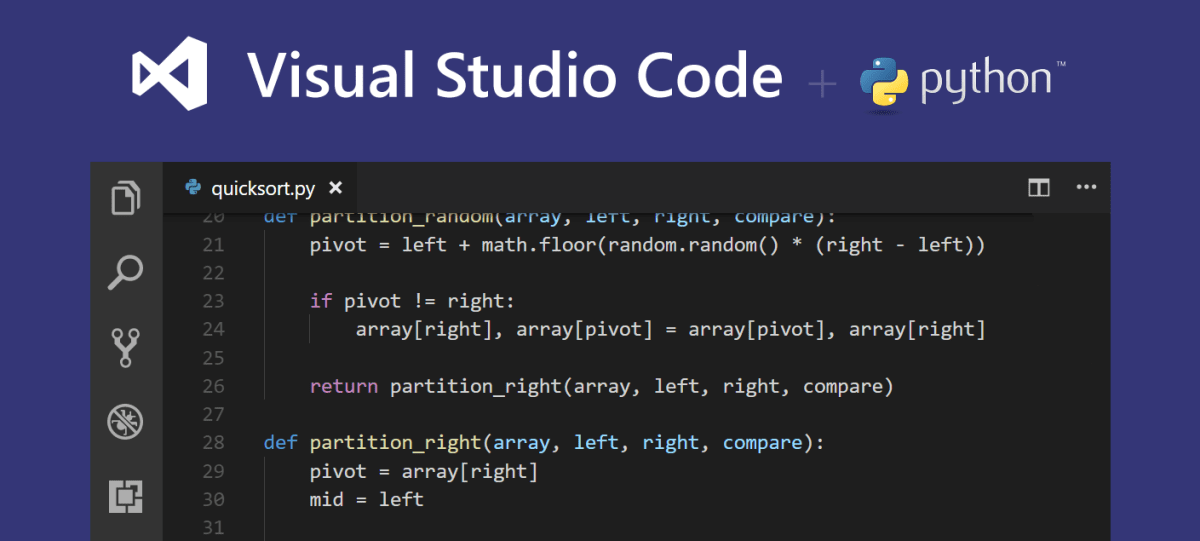 Get Started Tutorial for Python in Visual Studio Code