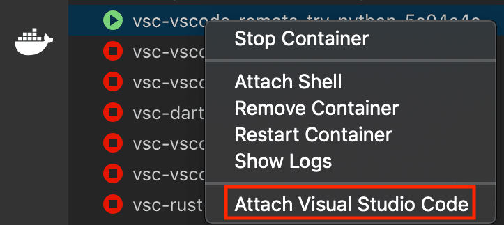 Developing inside a Container using Visual Studio Code Remote