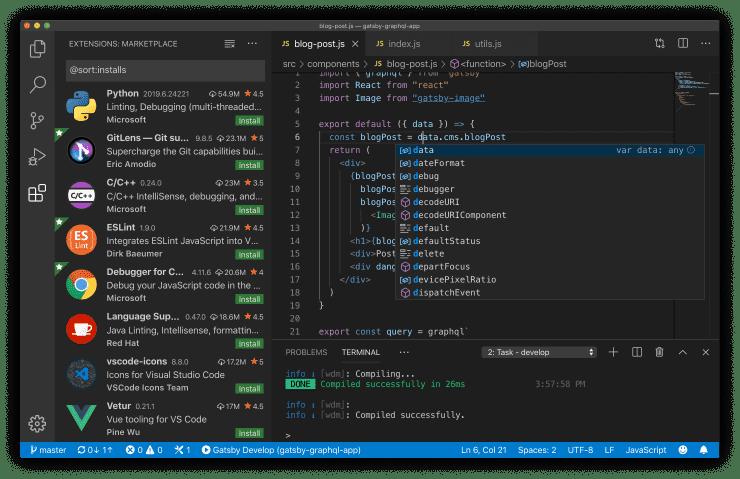 Visual Studio Code Mac 码农版 微软代码编辑器-麦氪派(WaitsUn.com | 爱情守望者)
