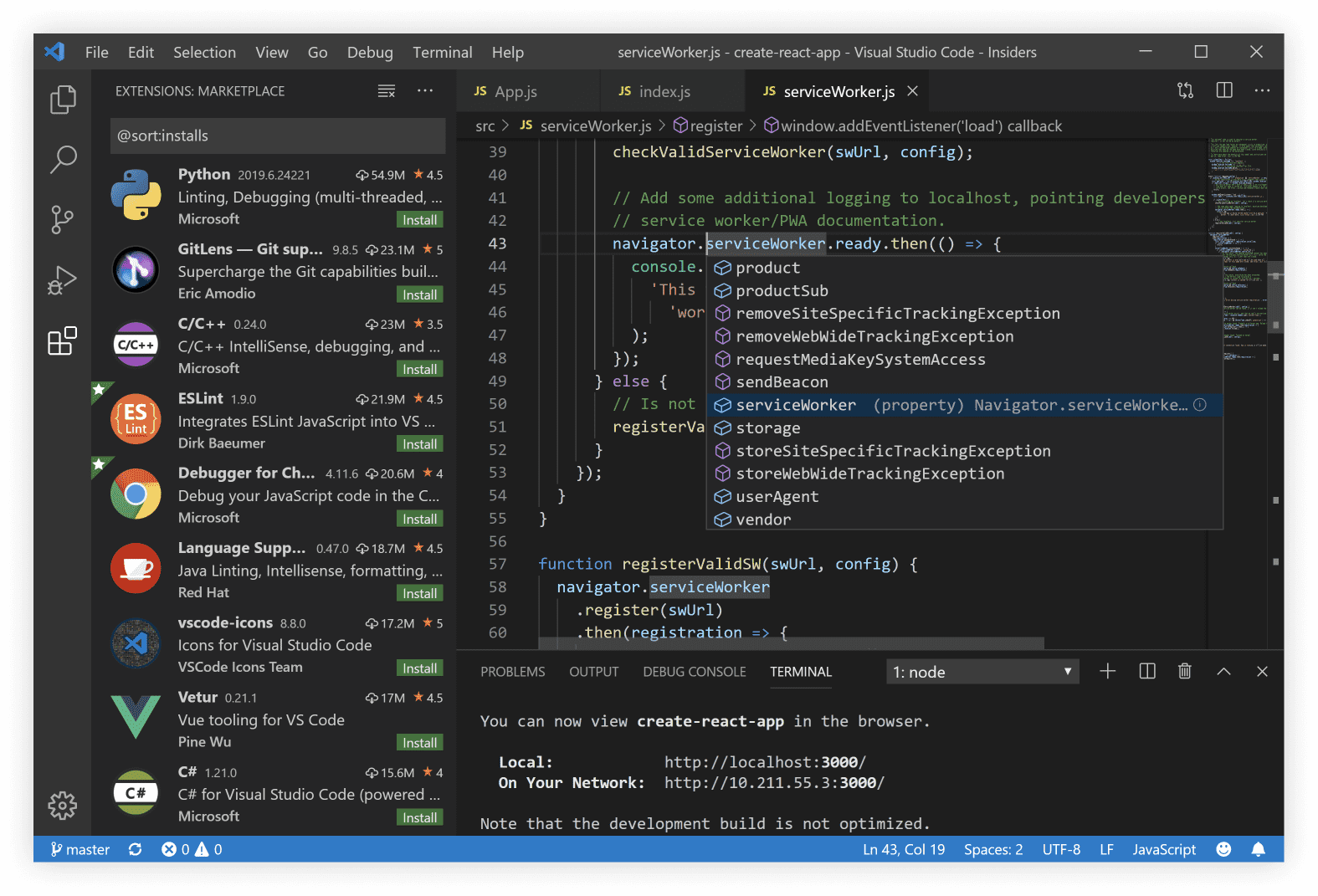 Visual Studio Code(vs code) 1.24  官方中文版下载