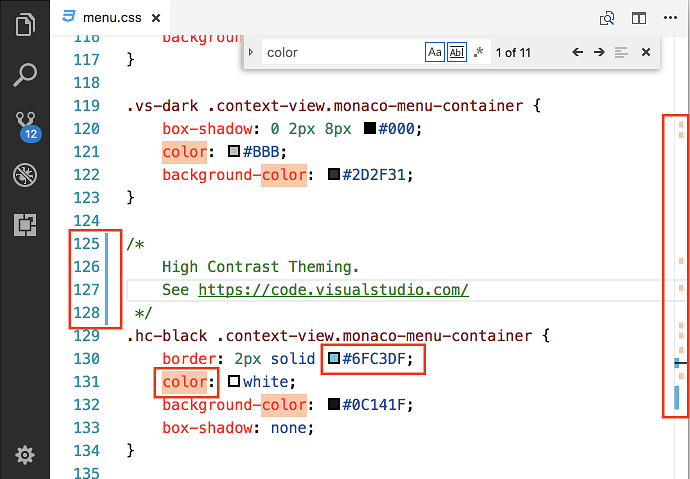 Visual Studio Code October 2017