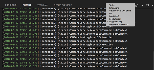 Visual Studio Code January 2018