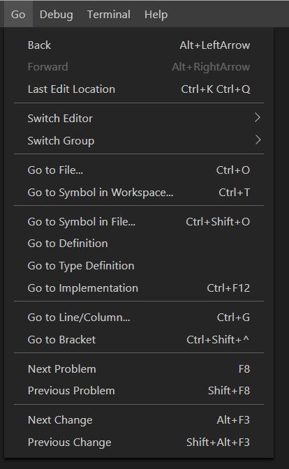 Visual Studio Code January 2019