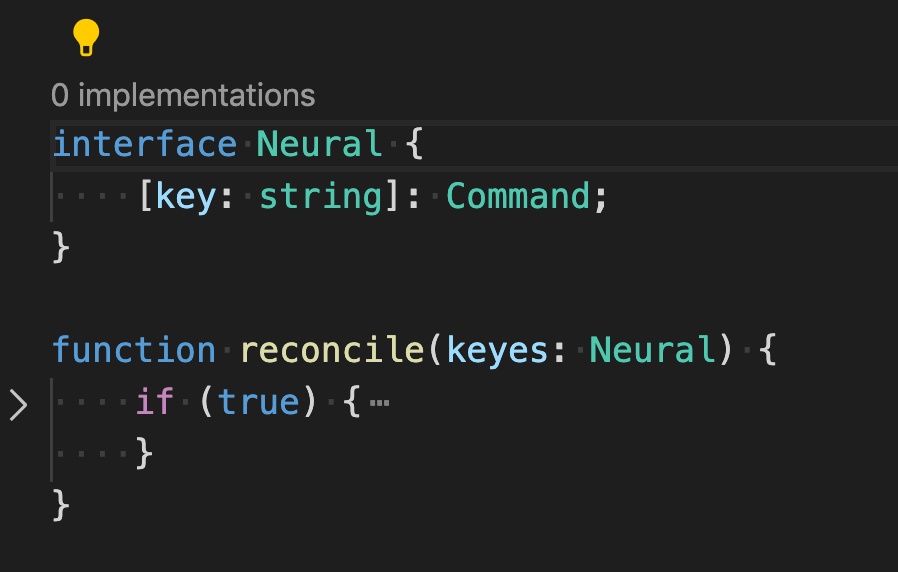 After extracting the 'Neural' interface out of 'keyes'