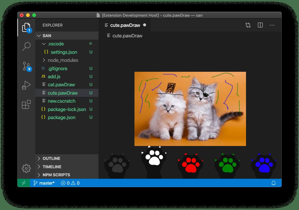 A custom editor for binary files