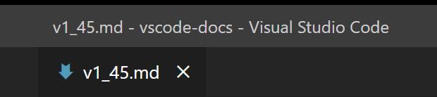 Window title separator using dash