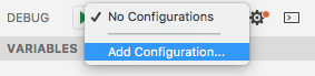add launch configuration
