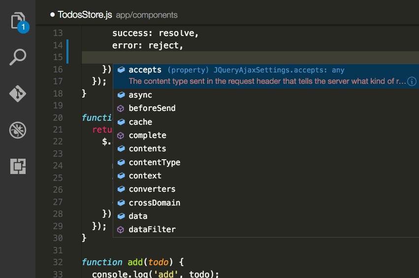 Intelligent Code Completion